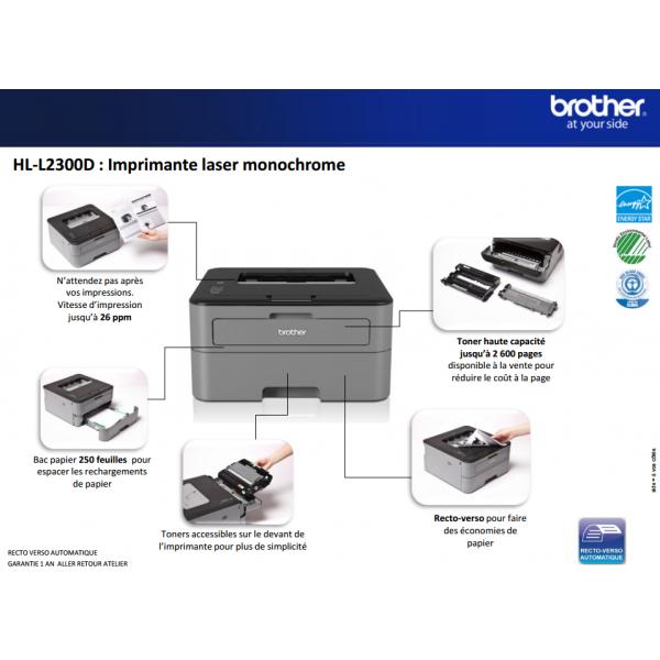 imprimante recto verso automatique free imprimante laser toutenun monochrome sans fil de. Black Bedroom Furniture Sets. Home Design Ideas