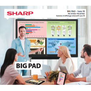 BIG PAD SHARP PN 70TW3A